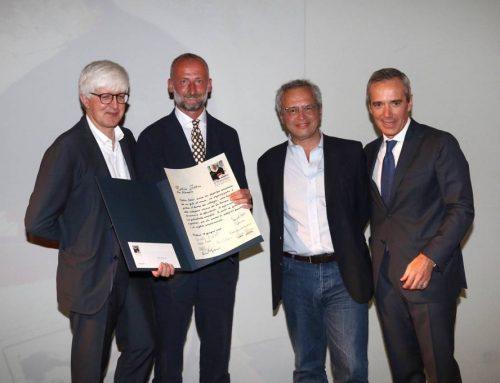 Beppe Severgnini Mattia Feltri premiato Enrico Mentana e Alfredo Pratolongo