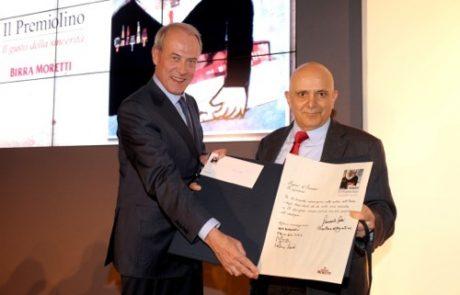 Edwin Botterman premia Marco d?Eramo de Il Manifesto