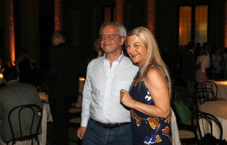 Enrico Mentana e Maria Luisa Agnese