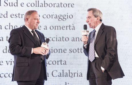 Michele Albanese (premiato) e Giulio Anselmi (giurato) 2