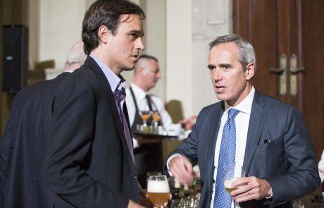 Emanuele Farneti (direttore GQ Italia) e Alfredo Pratolongo (vice presidente Fondazione Birra Moretti, giurato)
