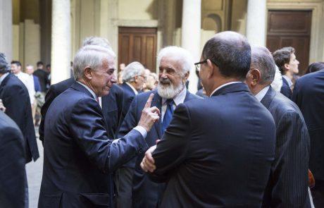 Il Sindaco di Milano Giuliano Pisapia con l'avv Cesare Rimini