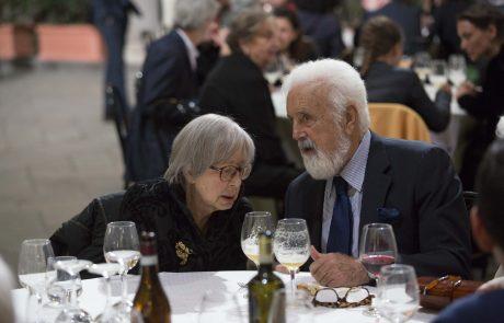 Nastalia Aspesi e Cesare Rimini